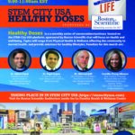 Save The Date: STEMCITYUSA Healthy Doses, Friday, Oct. 1, 2021, 9-11 am  :: Register at www.mystemcity.com :: Featuring Dr. Nilesh Patel, Dr. Kapil Gupta, Dr. Michael Jaff, & Camille Chang Gilmore